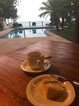 Pousada Antares: Owners are very friendly and also staff. We got the beach view rooms, numbers 2 and 4, and it's