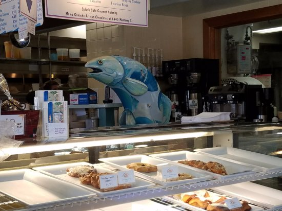 ‪‪Splash Cafe and Artisan Bakery‬: Big fish‬
