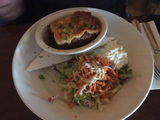 Inch, Ireland: lasagna