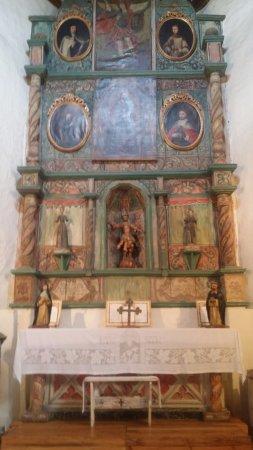 San Miguel Chapel : San Miguel Altar Screen