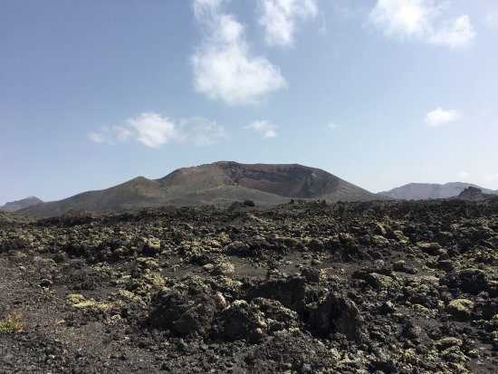 Vulkan Caldera Blanca