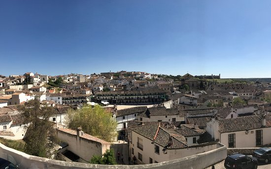 Chinchon, Spain: Panorámica desde el Mirador de la Iglesia.