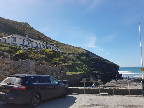 Trebarwith, UK: Great find. Sun, surf and sand!