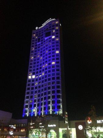 InterContinental Presidente Santa Fe: Un edificio sumamente hermoso desde arriba.