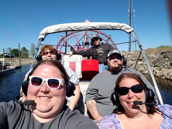 Spirit of the Swamp Airboat Rides: This was by far the best way to cap of our Florida vacation. Captain Chris was amazing!!!!