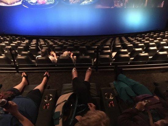 3ec8bebaf48 VIP Recline Seats - Bilde av Branson's IMAX Entertainment Complex i ...