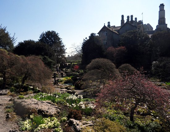 Kendal, UK: Sizergh Castle, Rockery garden