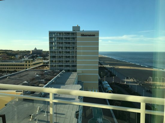 """Oceanaire Resort Hotel: This is what we got for an """"Ocean View"""" suite"""