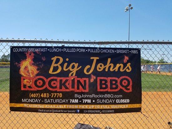 Big john 39 s rockin 39 bbq kissimmee restaurant avis num ro de t l phone photos tripadvisor - Avis barbecue naterial florida ...