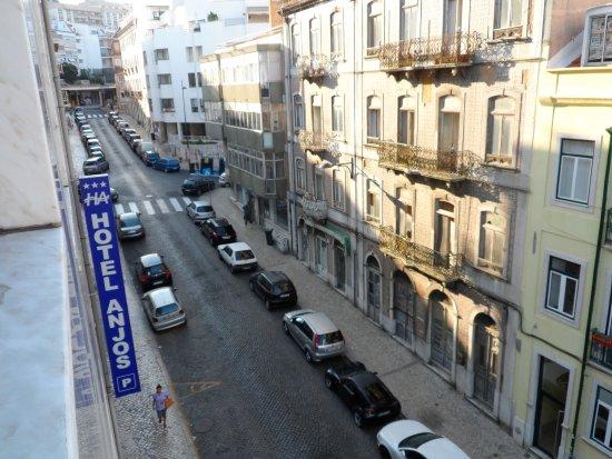 Hotel Dos Anjos: Vista da janela do quarto