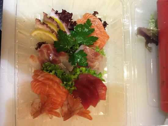 Mediglia, Italy: Sashimi misto
