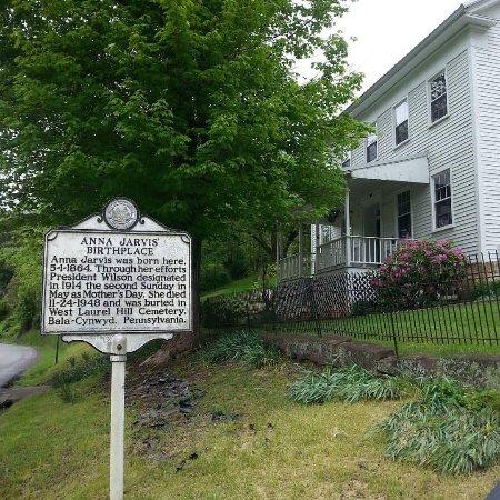 Grafton, Virginie-Occidentale : Anna Jarvis Birthplace Museum