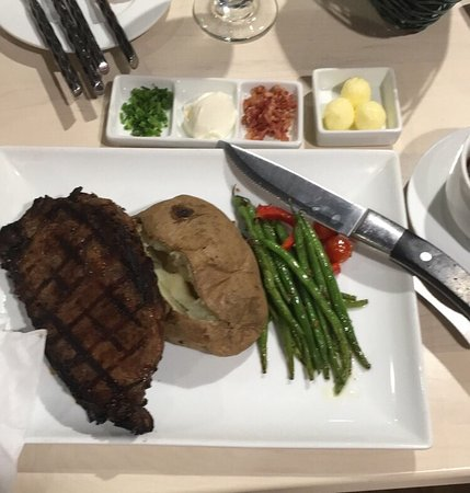 Omak, WA: Stop by the Camas Restaurant! I had prime rib and hubby had the Alaskan Halibut! High quality in