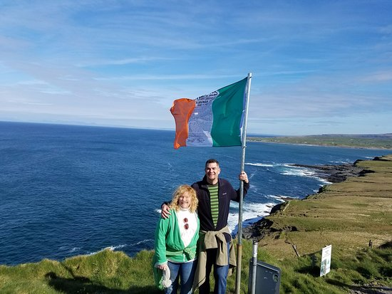 Doolin Cliff Walk: On Pat's grandfather's land
