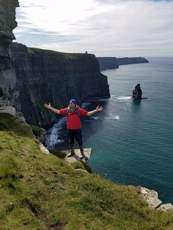 Doolin Cliff Walk: Pat, our fearless leader...and all around great guy