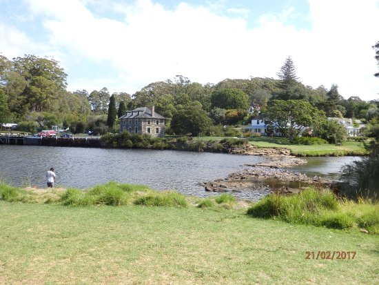 Kerikeri, New Zealand: Across from the other side