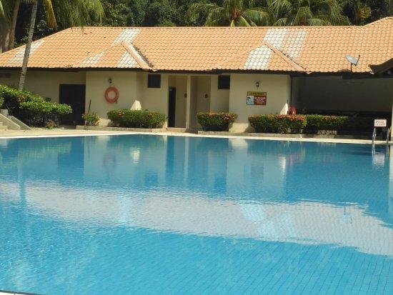 Tekek, Malezya: Как обычно весь бассейн в нашем распоряжении