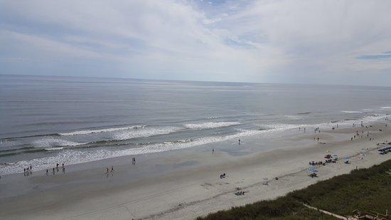 Shore Crest Vacation Villas: Looking south