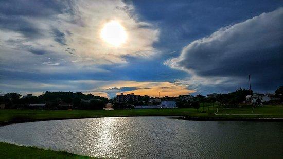 Palotina, PR: Pôr do Sol maravilhoso!!