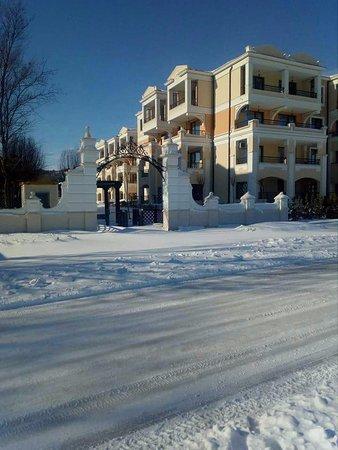 Sozopol, Bulgaria: Вход в комплекс Грин Лайф. февраль 2017 года.