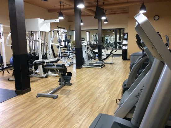 Salmon Arm, Canada: Fabulous, large fitness centre
