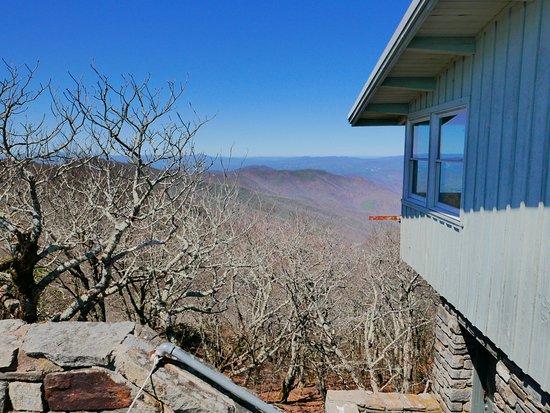 Burnsville, NC: view north from mt mitchell