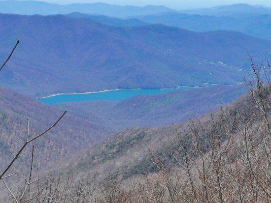 Burnsville, NC: view from summit mt. mitchell