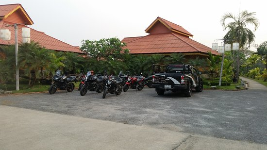 Thai Motorcycle Day Tours: Overnight stopover - great accomodation