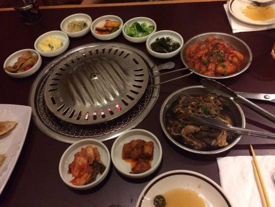 What A Spread Picture Of Bbq Garden Korean Restaurant Houston Tripadvisor