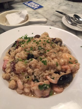 Sotto Mare Oysteria & Seafood: Seafood Risotto