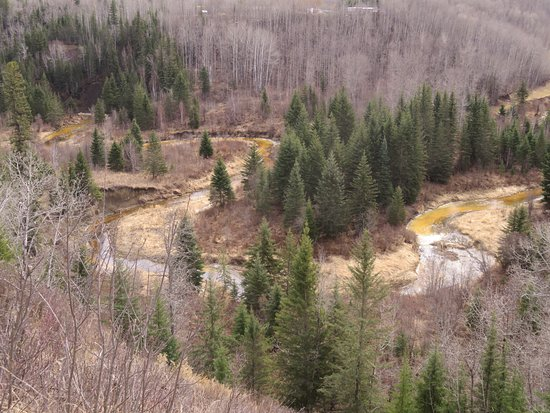 Athabasca, Kanada: A look out spot along the trail