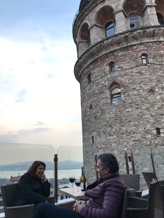 Anemon Galata: Best tower view