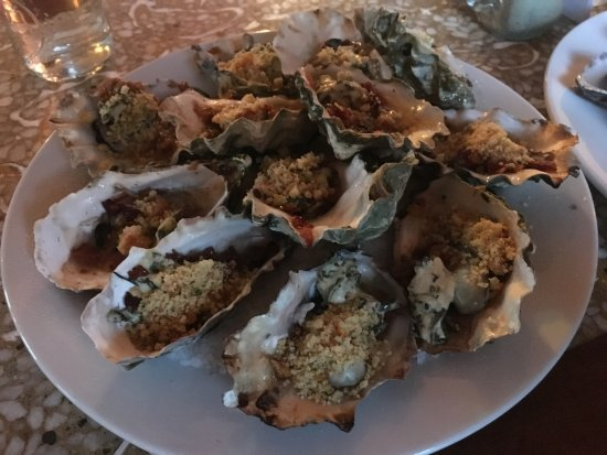 Valley Ford, Kalifornia: Oysters Rockefeller