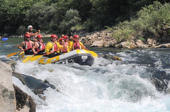 Rafting on the Neretva River from...