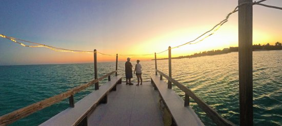 On the sunset cruise offered by Southern Cross