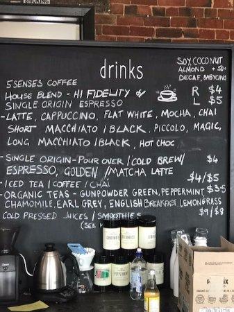 Preston, Avustralya: Drinks board