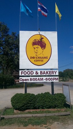 Doi Chang Fresh Coffee : Signage