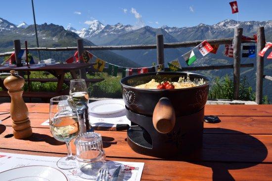 Saint-Luc, สวิตเซอร์แลนด์: Les cornettes de la Bella-Tola