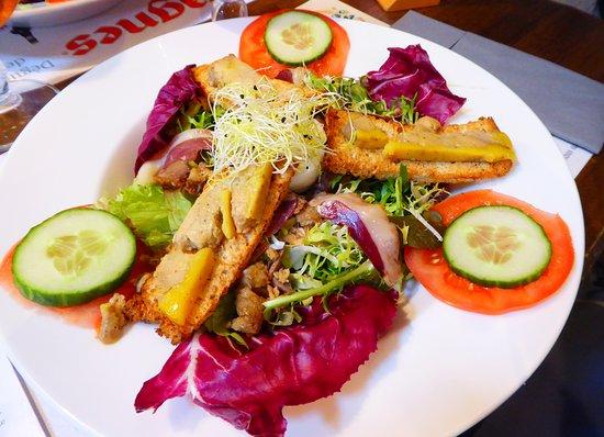 Couvin, Belgium: la salade conseillée de ce mois ...