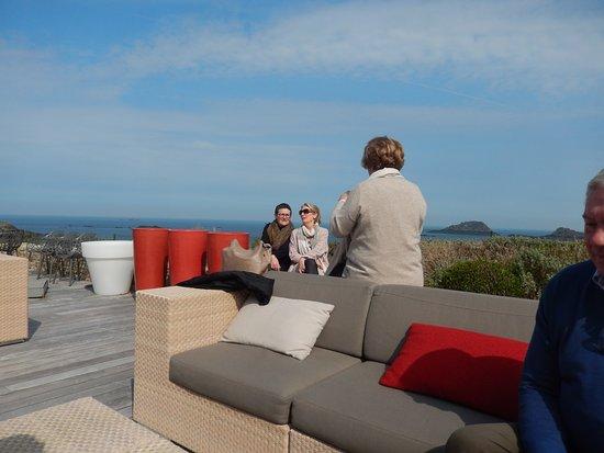 La terrasse photo de le benetin saint malo tripadvisor - Le benetin saint malo ...