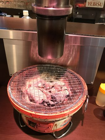 Charcoal fire grilled meat Jin