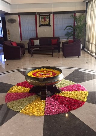 Regency Kanchipuram By GRT Hotels Flower Decoration For Ugadi Festival & 84+ Ugadi Decorations At Home - Mehndi Function Decoration Ideas ...