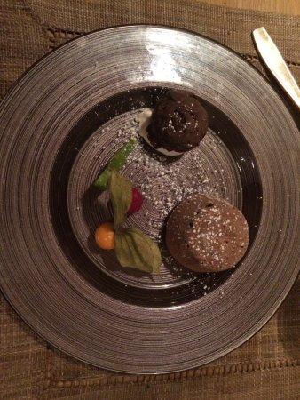 Saint-Ouen-sur-Morin, Fransa: moelleux au chocolat