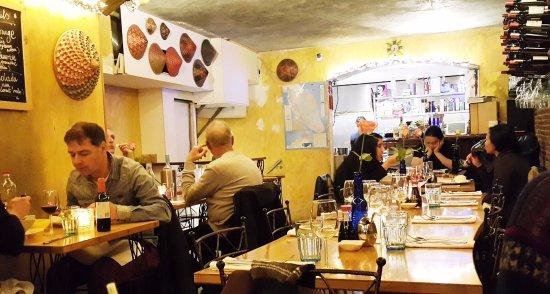 Malaysian restaurant Wau: Inside the restaurant