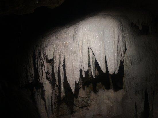 Savonnieres, Frankrike: stalactite
