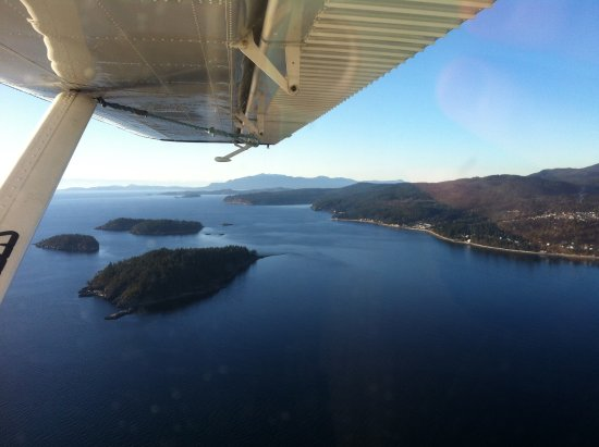 Halfmoon Bay, Canada: Take a sea plane ride and check out the Coast from the air, it's amazing.