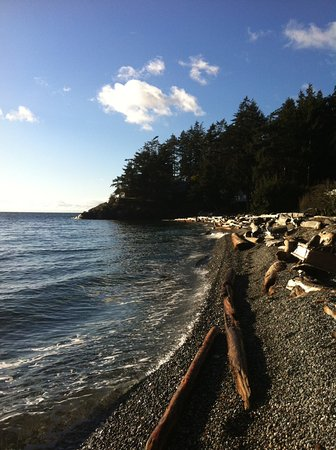Halfmoon Bay, Canada: The Platinum Mile, one of our beautiful beaches.