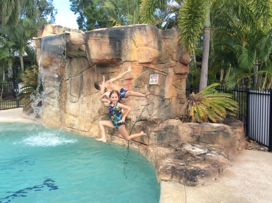 NRMA Treasure Island Holiday Park: Super poolside shots
