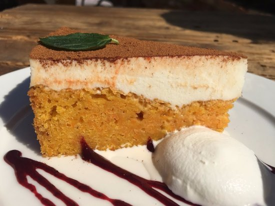 Hustopece, Czech Republic: carrot cake