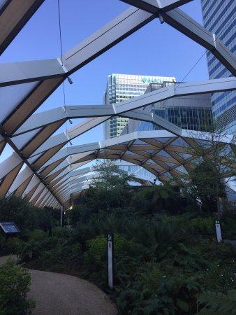 Photo of Monument / Landmark Crossrail Place Roof Garden at London E14 5AR, United Kingdom